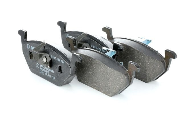 Bremsbelagsatz, Scheibenbremse Breite: 146mm, Höhe: 54,6mm, Dicke/Stärke: 18,7mm mit OEM-Nummer 6Q0698151