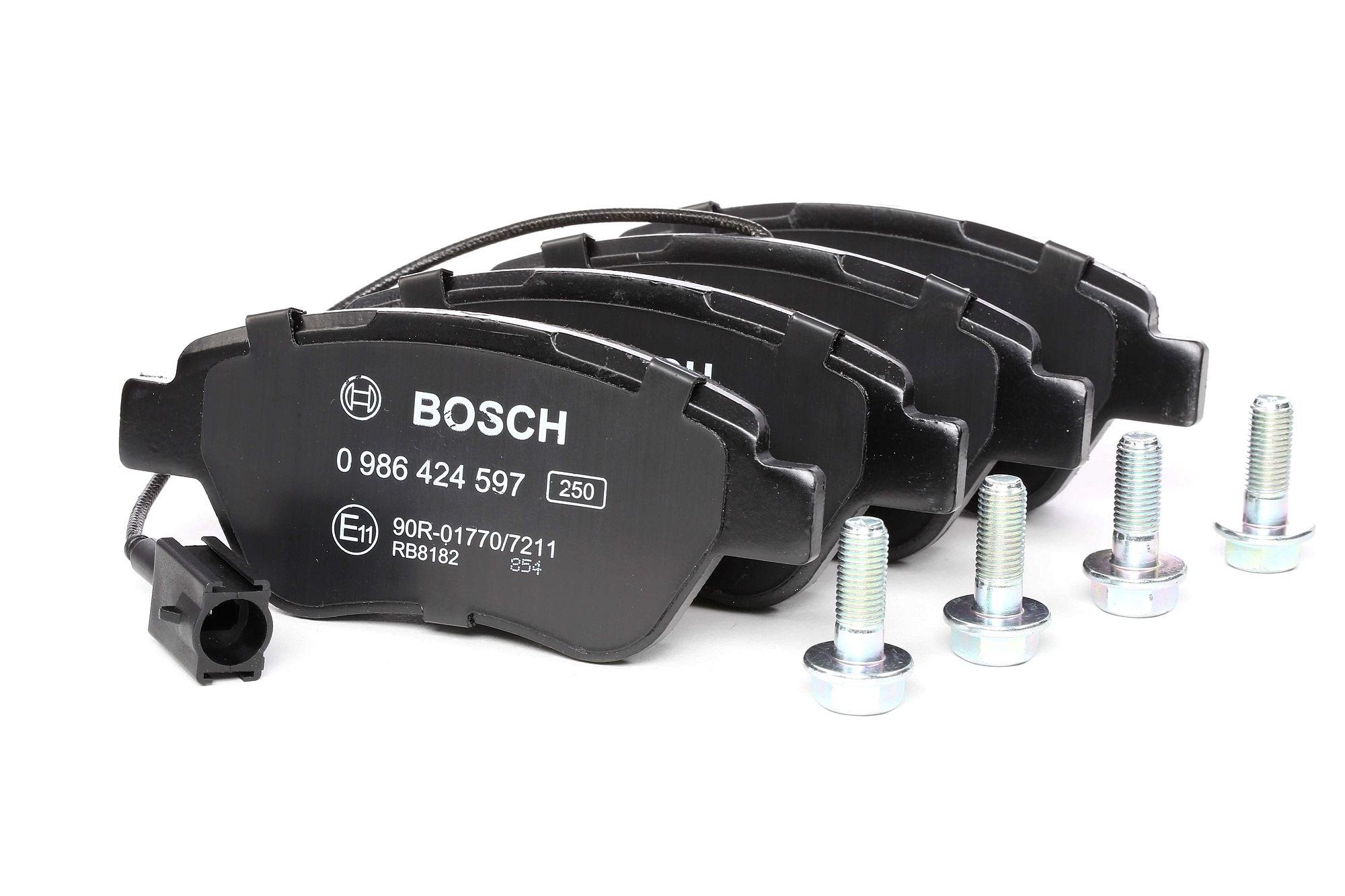 Bremsbelagsatz BOSCH E1190R017707211 Bewertung