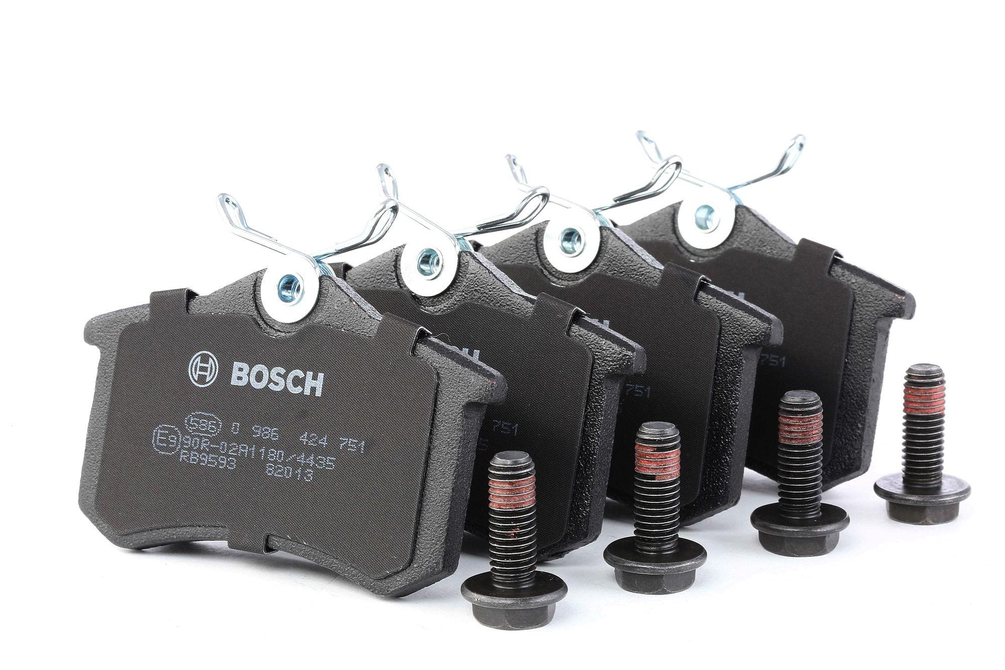 Bremsbelagsatz BOSCH E190R011209084 Bewertung