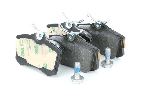 Bremsbelagsatz, Scheibenbremse Breite: 87,2mm, Höhe: 53,2mm, Dicke/Stärke: 16,3mm mit OEM-Nummer 5C0 698 451