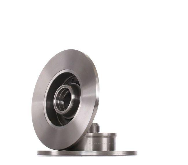 Bremsscheibe Bremsscheibendicke: 9,9mm, Lochanzahl: 4, Ø: 226mm mit OEM-Nummer 357615601