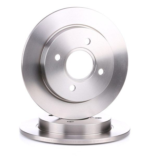 Brake discs and rotors BOSCH BD284 Solid, Oiled