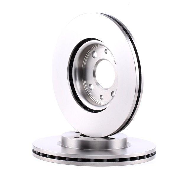 Frenos de disco BOSCH E190R02C06740095 ventilado, Ventilación interna, aceitado