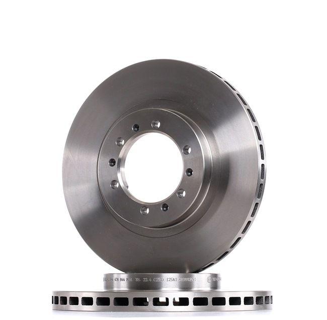 Frenos de disco BOSCH E190R02C00740075 ventilado, aceitado