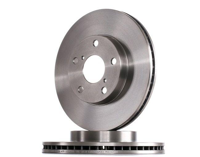 Brake Disc 0 986 479 111 RAV 4 II (CLA2_, XA2_, ZCA2_, ACA2_) 2.0 MY 2003