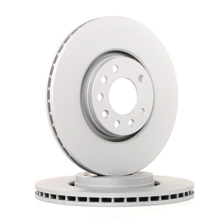Brake discs and rotors BOSCH E190R02C03810160 Internally Vented, Vented, Coated, Alloyed / High-carbon