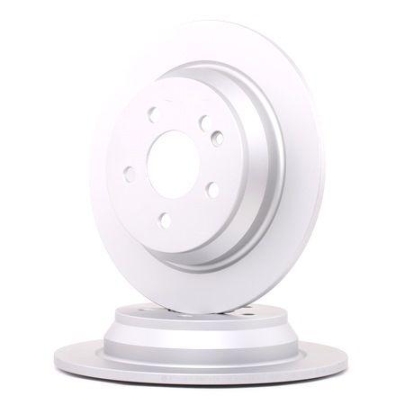 Frenos de disco BOSCH E190R02C02410212 Macizo, revestido