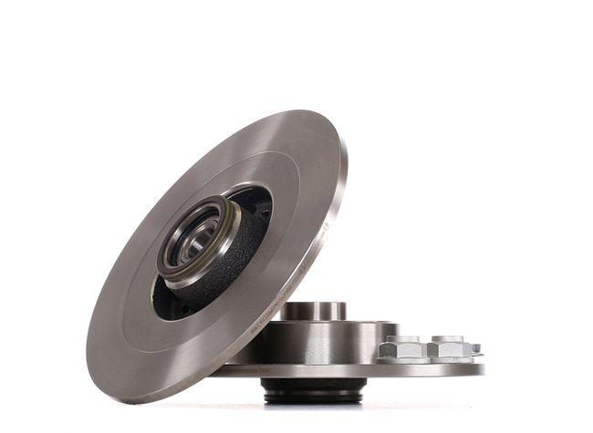 BOSCH Voll, geölt, mit ABS-Sensorring, mit Radlager 0986479276