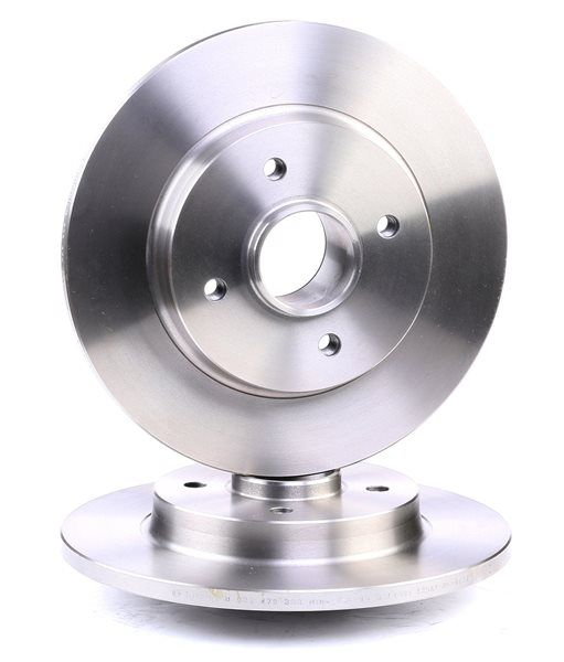 Brake discs and rotors BOSCH BD1245 Solid, Oiled, without integrated magnetic sensor ring, without wheel bearing