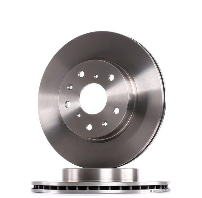 Frenos de disco BOSCH E190R02C00740282 ventilado, aceitado, con tornillos