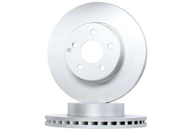 BOSCH Frenos de disco MERCEDES-BENZ ventilado, revestido, altamente carbonizado, con tornillos