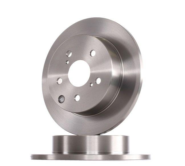 Frenos de disco BOSCH E190R02C02410179 Macizo, aceitado