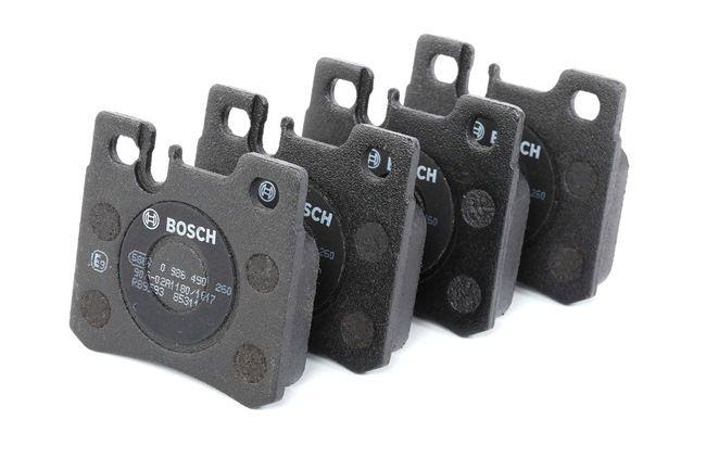Bremsbelagsatz, Scheibenbremse Breite: 61,8mm, Höhe: 58,7mm, Dicke/Stärke: 15,2mm mit OEM-Nummer A00 142 09 520