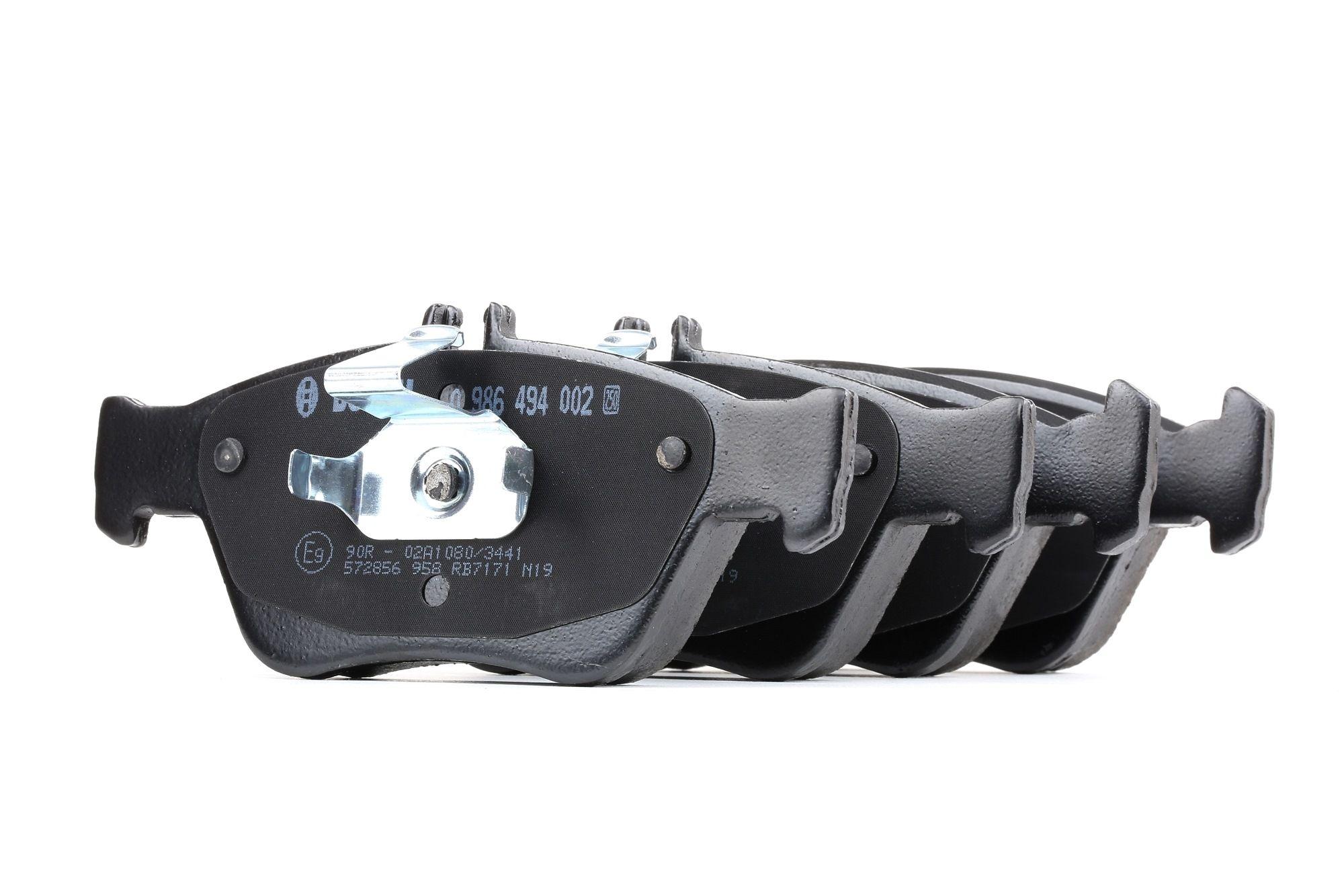 Bremsbelagsatz BOSCH E990R02A10803441 Bewertung