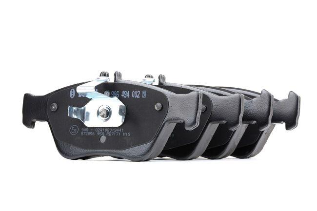 Bremsbelagsatz, Scheibenbremse Breite: 151,5mm, Höhe 1: 60mm, Höhe 2: 66,3mm, Dicke/Stärke: 19,5mm mit OEM-Nummer A002 420 44 20