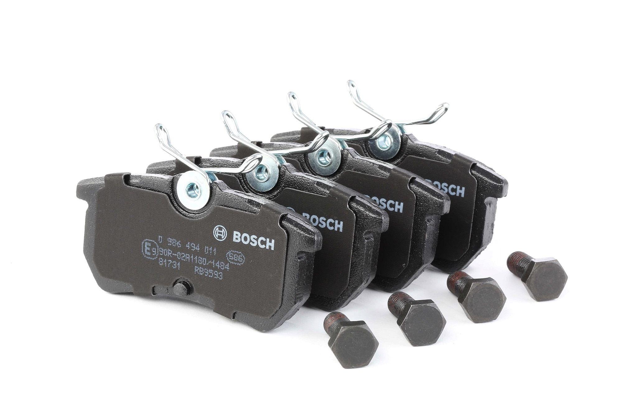 Disk brake pads BOSCH 23353 rating