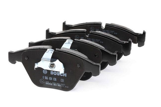 Bremsbelagsatz, Scheibenbremse Breite: 155,3mm, Höhe: 68,5mm, Dicke/Stärke: 19,8mm mit OEM-Nummer 3411 6794 917