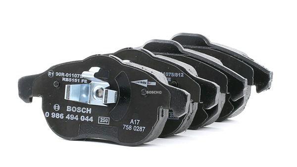 OEM Kit de plaquettes de frein, frein à disque BOSCH 0986494044