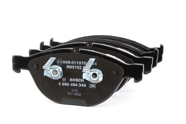 OEM Bremsbelagsatz, Scheibenbremse BOSCH 7821D1151 für BMW