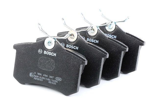 Bremsbelagsatz, Scheibenbremse Breite: 87,2mm, Höhe: 53,2mm, Dicke/Stärke: 16,2mm mit OEM-Nummer 1J0 698 451 F