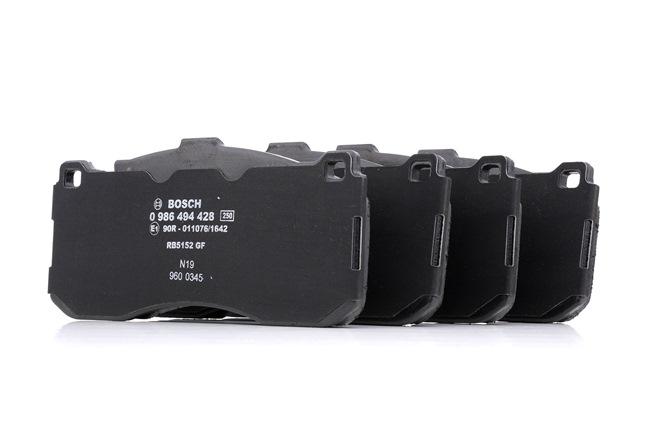 Bremsbelagsatz, Scheibenbremse Breite: 163,1mm, Höhe: 73,5mm, Dicke/Stärke: 16,4mm mit OEM-Nummer 34 11 6 786 044