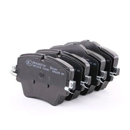 OEM Brake Pad Set, disc brake BREMBO D18929120 for TOYOTA