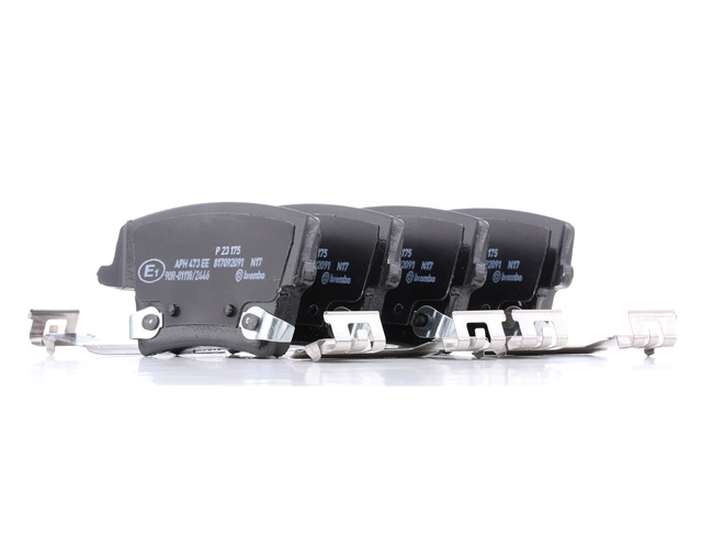 OEM Brake Pad Set, disc brake BREMBO D10577964 for DODGE