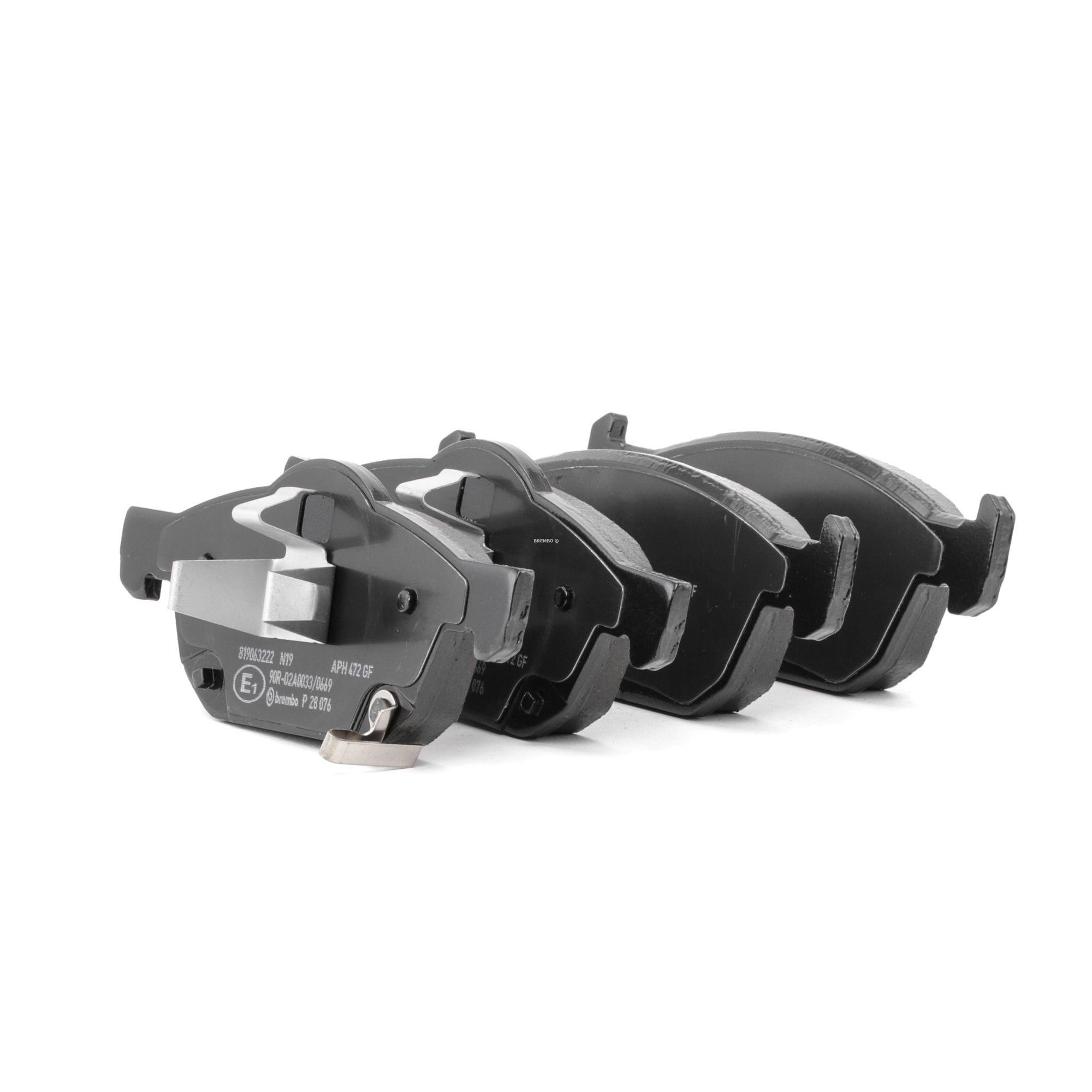 Disk brake pads BREMBO 25804 rating