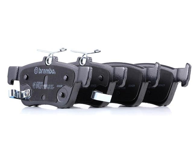 OEM BREMBO D18789106 HONDA LOGO Brake pad set disc brake