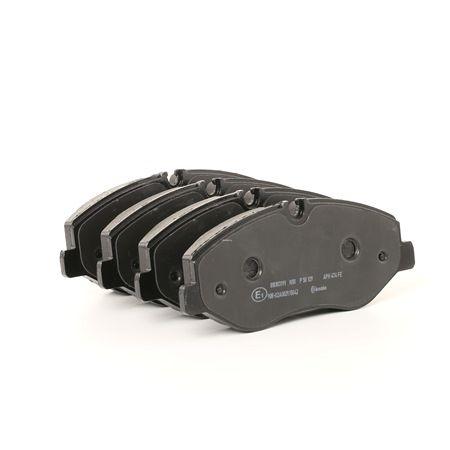 Bremsbelagsatz, Scheibenbremse Breite: 184,1mm, Höhe: 74,8mm, Dicke/Stärke: 20,8mm mit OEM-Nummer A 447 421 08 00