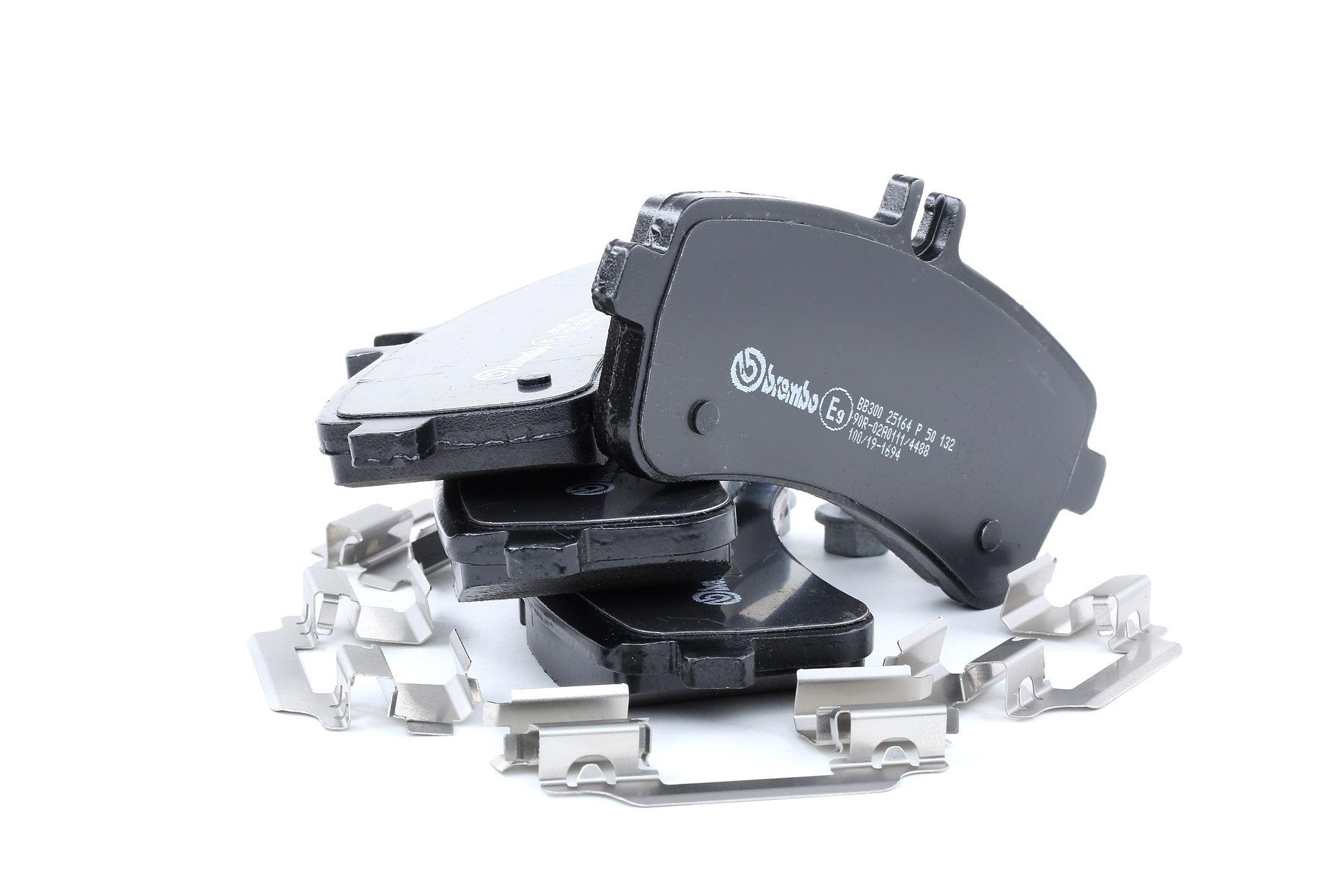 Disk brake pads BREMBO 25163 rating