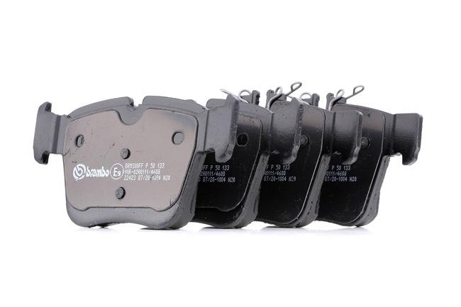 Bremsbelagsatz, Scheibenbremse Breite: 122,4mm, Höhe: 64mm, Dicke/Stärke: 16,1mm mit OEM-Nummer A 000 420 5900