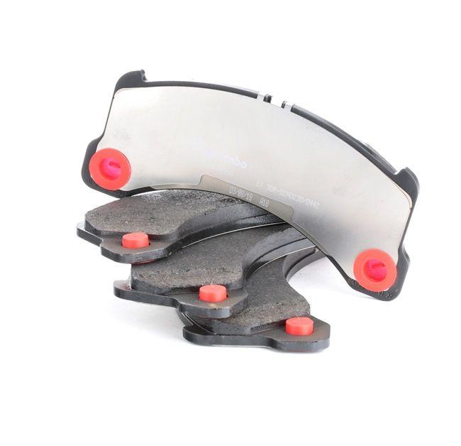 OEM Brake Pad Set, disc brake BREMBO P65033