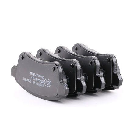 OEM Brake Pad Set, disc brake BREMBO 22103 for NISSAN