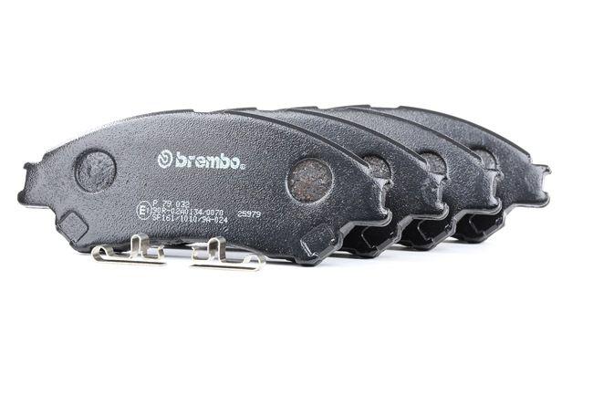 BREMBO P79032 Bremsekloss