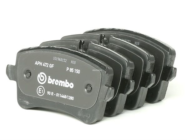 OEM Brake Pad Set, disc brake BREMBO P85150