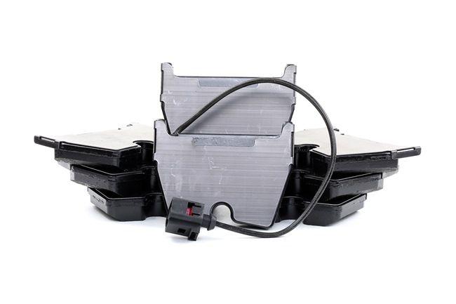 Kit de plaquettes de frein, frein à disque Largeur: 95,5mm, Hauteur: 74mm, Épaisseur: 16,4mm avec OEM numéro 8U0 698 151 H