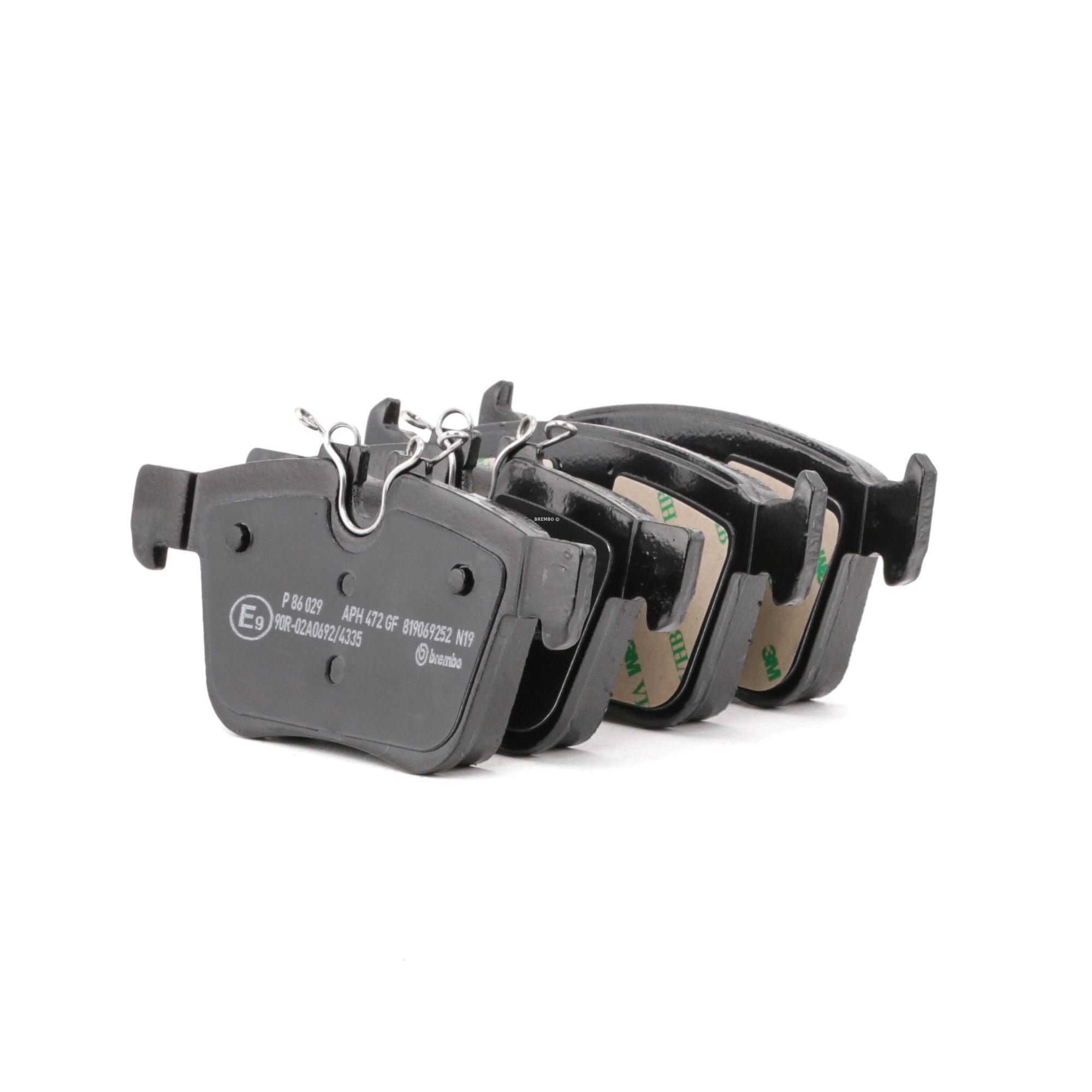 Disk brake pads BREMBO 22141 rating