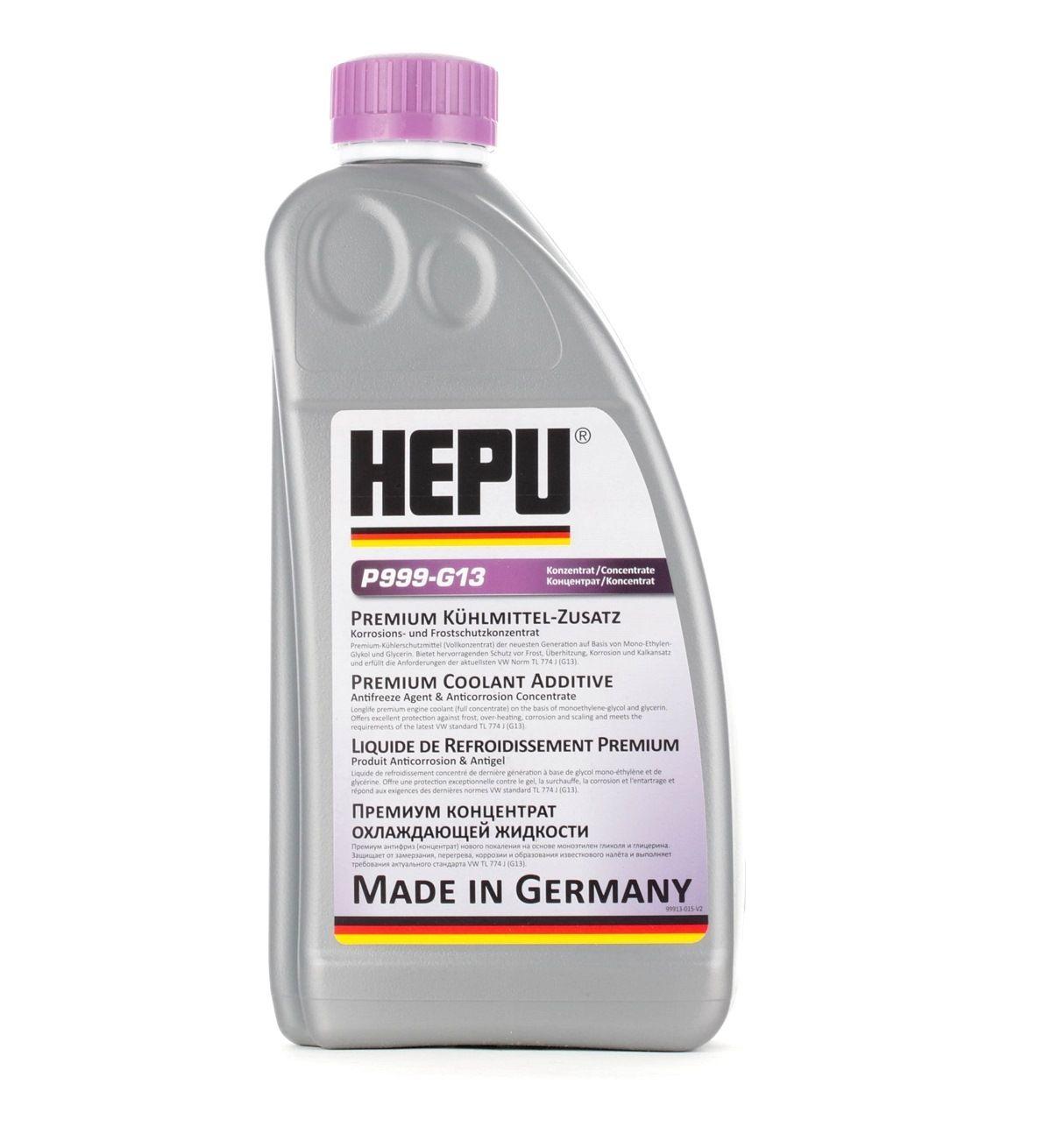 Антифриз HEPU GG40 оценка