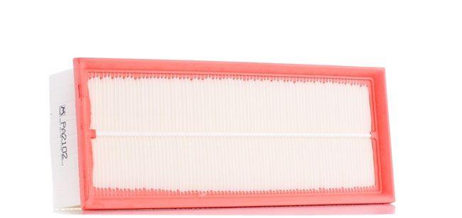Luftfilter Länge: 345mm, Breite: 135mm, Höhe: 70mm mit OEM-Nummer 1K0 129 620 D