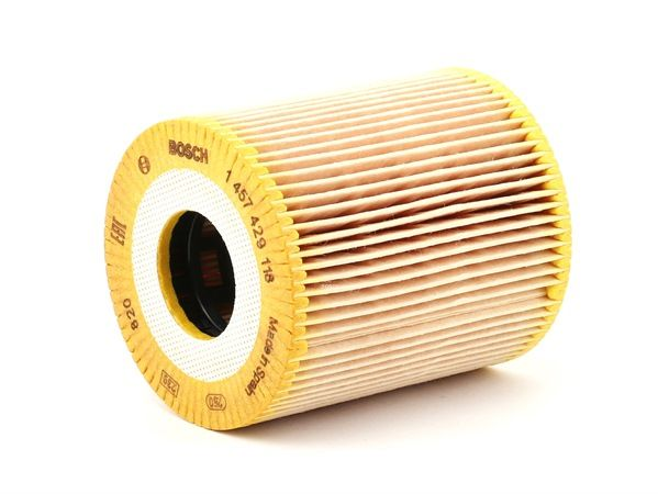 BOSCH Маслен филтър вложка на филтър