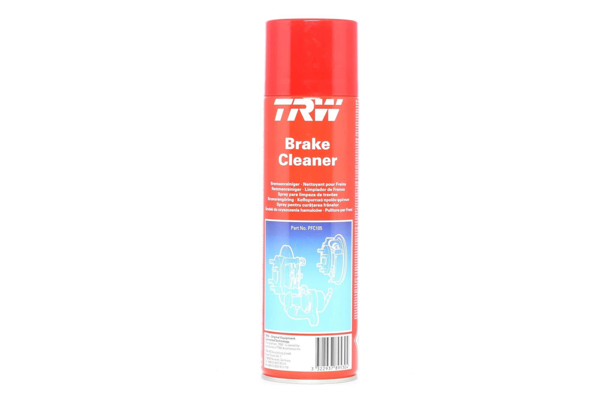 70060 BRAKE / CLUTCH CLEANER PETEC GMBH CONTENTS: 500ML,