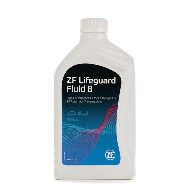 Schaltgetriebe ZF GETRIEBE Automatikgetriebeöl Inhalt: 1l, ZF LifeGuardFluid 8