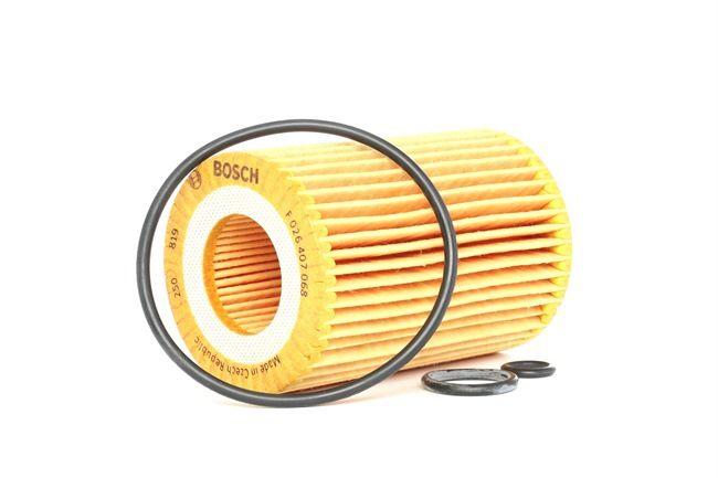 Filtro de aceite BOSCH P7068 Cartucho filtrante