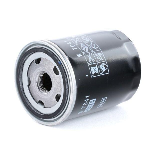 MANN-FILTER Anschraubfilter, mit einem Rücklaufsperrventil W7041