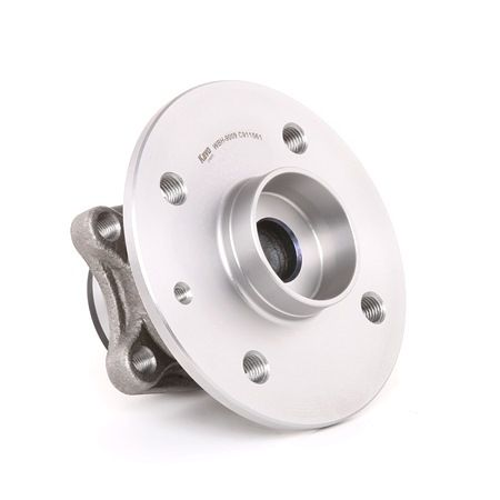 KAVO PARTS Wheel hub assembly TOYOTA Rear Axle left and right, with integrated ABS sensor