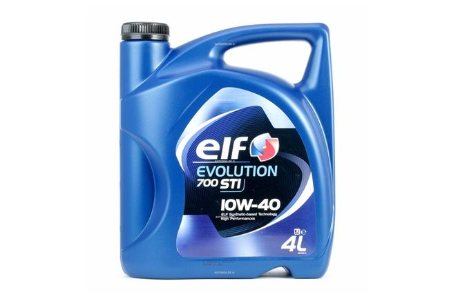 ELF Motorolja Evolution, 700 STI, 10W-40, 4l 3267025011184 rating