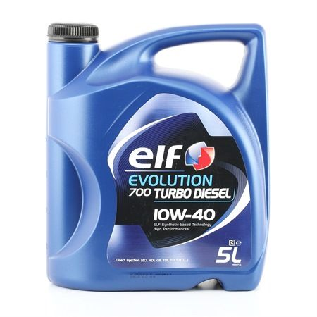 Buy cheap Engine oil from ELF Evolution, 700 Turbo Diesel, 10W-40, 5l online - EAN: 3267025011160