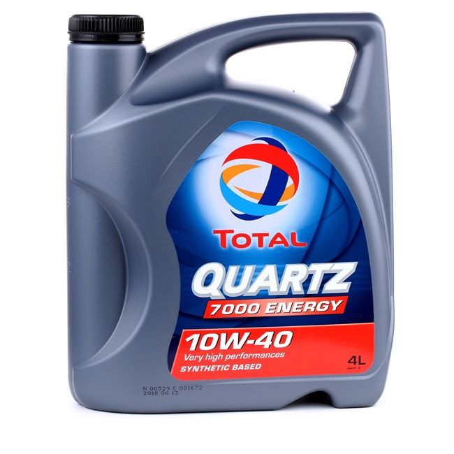 Köp billigt Motor olja från TOTAL Quartz, 7000 Energy, 10W-40, 4l på nätet - EAN: 3425901019741