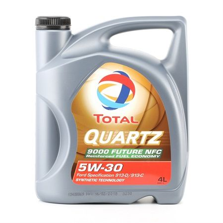 Buy cheap Engine Oil Quartz, 9000 Future NFC, 5W-30, 4l from TOTAL online - EAN: 3425901028132